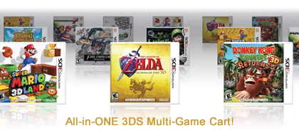 3DS Multi-Game Cartridge 100 in 1